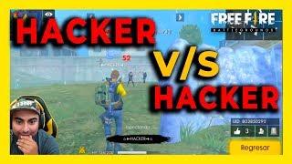 ME ENCUENTRO 2 HACKER EN UNA PARTIDA HACKER VS HACKER FREE FIRE