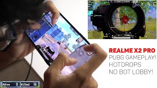 Realme X2 Pro- PUBG Mobile Gameplay Review! Full Gyro & Claw! 60 FPS monster?