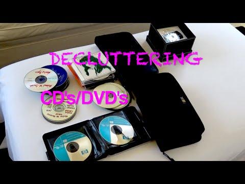 KonMari Method- DECLUTTERING CD's/ DVD's (Komono)