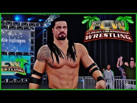 WWE 2K - Florida Championship Wrestling (Custom Entrances FCW)