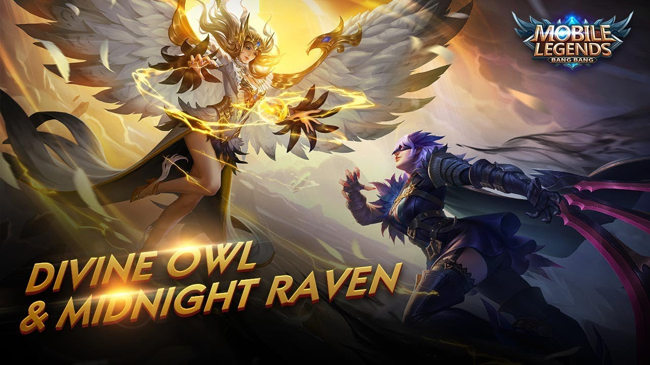 New Skins  Divine Owl u0026 Midnight Raven  Mobile Legends: Bang