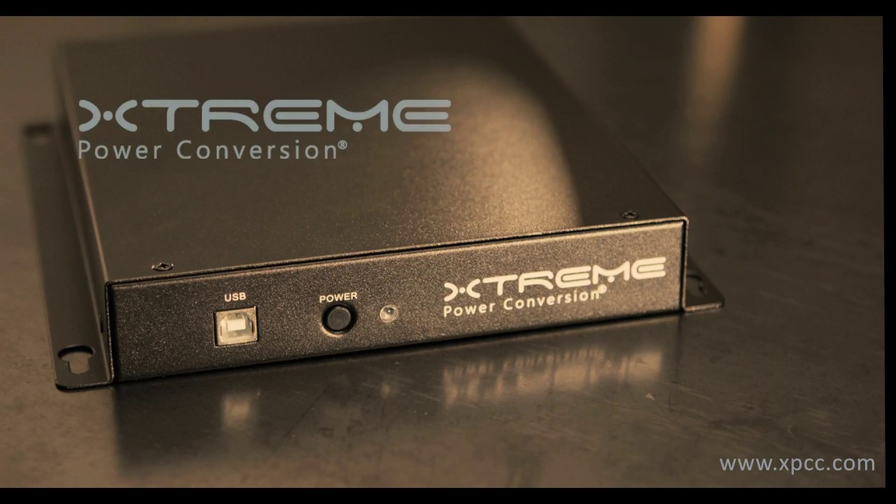 J60 Lithium UPS | Xtreme Power Conversion