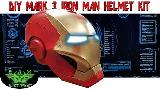 DIY MARK 3 IRON MAN HELMET KIT