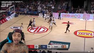 FlightReacts LaMelo Ball 2019 NBL Highlights!