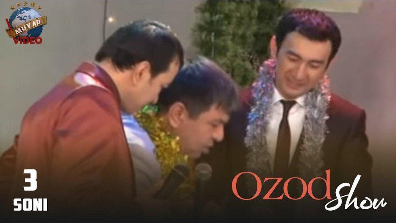 Ozod SHOU 3-soni (Og'abek Sobirov, Botir Qodirov, Umida, Zokir, Alisher Fayz)