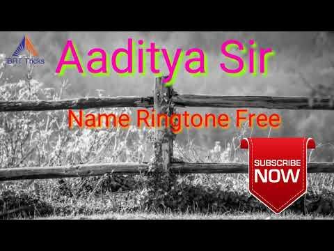 Aaditya Name Ringtone Free Download