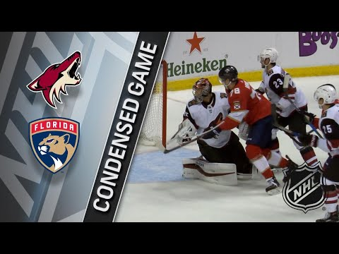 03/24/18 Condensed Game: Coyotes @ Panthers