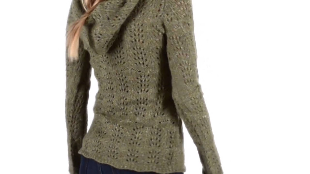Royal Robbins Elena Hoodie Sweater - V-Neck (For Women) - YouTube