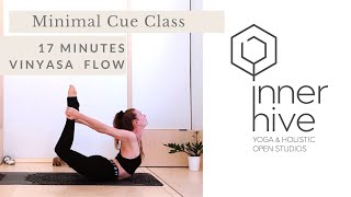 Minimal Cue Vinyasa  Flow Yoga Class | Inner Hive with Bryony Giboin