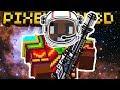 NEW SPACE RIFLE WEAPON!! | Pixel Gun 3D