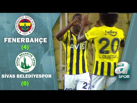 Fenerbahçe 4 - 0 Sivas Belediyespor MAÇ ÖZETİ (Ziraat Türkiye Kupası 4. Tur Maçı