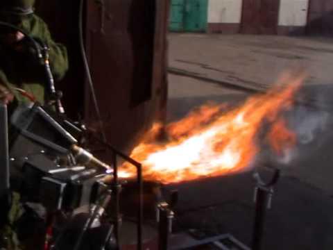 видео: Горение биотоплива - 6 горелок вода салярка 07-10-13 г