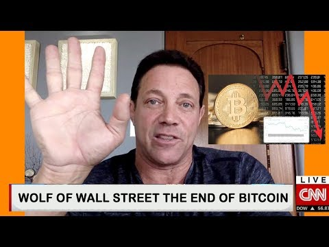 The end of bitcoin & Cryptocurrency Wolf of Wall Street Jordan Belfort 2018