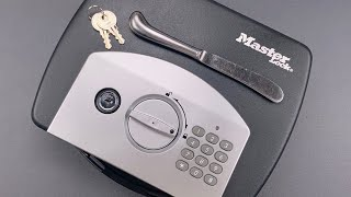 [1108] Opened With A BUTTER KNIFE: Master Lock Electronic Lockbox (Model P008EML)