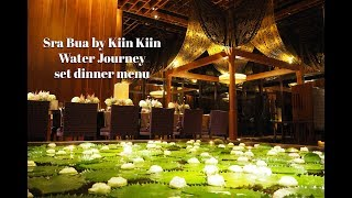 Sra Bua by Kiin Kiin - Winter Journey Set Dinner Menu