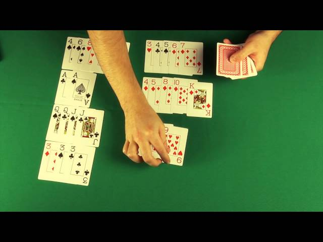 A Força das Mãos - Ordem das cartas no Poker