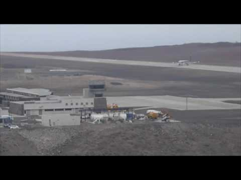 Embraer Trial Flight to St Helena Airport