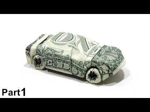 Origami Dollar bill