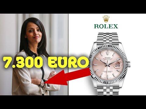 ⌚ 7.300 € Rolex – Vorzeige-Muslima Sawsan Chebli entfacht Shitstorm