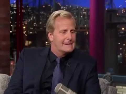 Jeff Daniels talks U.P. on Letterman
