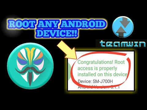 MAGISK!! How To Root Any Android Device 2019! TWRP RECOVERY