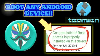 Download video MAGISK!! How to root any Android device 2019! TWRP RECOVERY