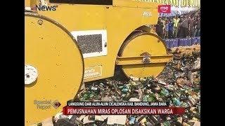 Download Polda Jabar Musnahan 31 Ribu Miras Oplosan di Alun-alun Cicalengka - Special Report 19/04 Mp3 and Videos