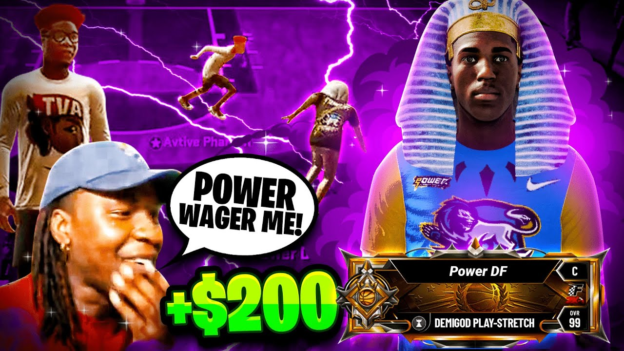 YOUTUBER challenges me for $200 & it gets INTENSE (NBA 2K20)