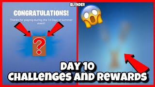 Fortnite 14 Days Of Summer Day 10 Rewards and Challenges