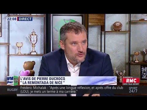 Ducrocq impressionné par le retour de Nice