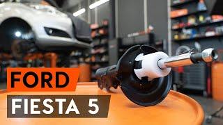 Hur byter man Fjäderbenslagring AUDI Q7 (4M) - videoguide
