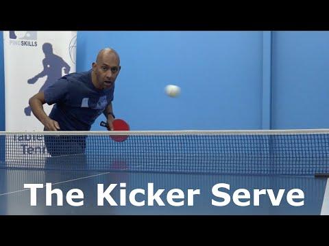 The Kicker Serve   Table Tennis   PingSkills