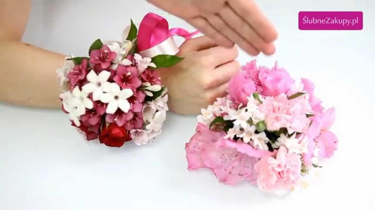 Jak Zrobić Bukiet Na Rękę Z żywych Kwiatów Na ślub Podpowiadają