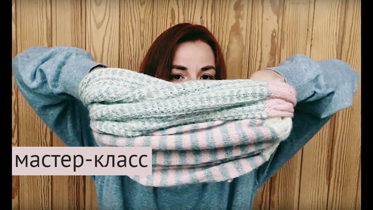 Вязание руками и толстая пряжа - YouTube