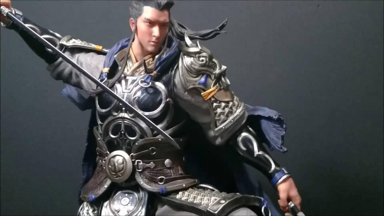 Review #34 - Infinity Studio General Zhao Yun 1/4 Statue - YouTube