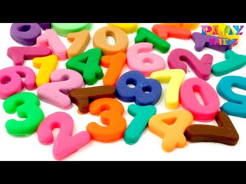 Thumbnail: 💗Learn to count make Numbers 1-10 Play-Doh Number rhymes for children Counting new special edition