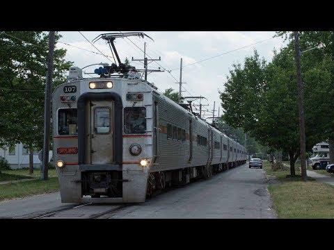 South Shore Passenger Trains, 6-12-17