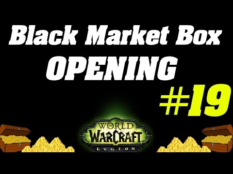 Opening Unclaimed Black Market Container #19