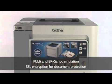 BROTHER PRINTER 4050CDN 64BIT DRIVER