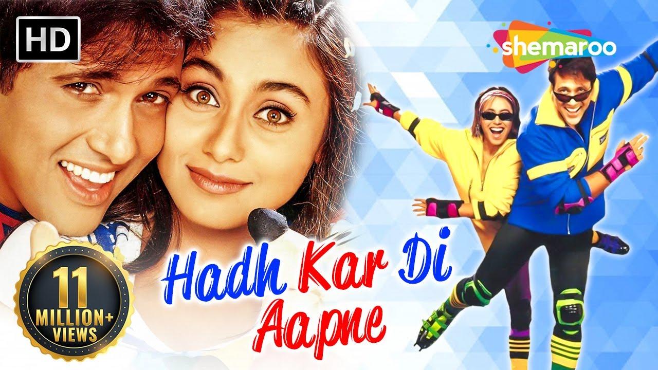 Hadh Kardi Aapne - Hindi Full Comedy Movie | Govinda - Rani Mukerji - Johnny Lever
