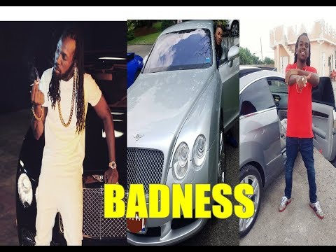 Marvin the Beast Danceing to Mavado Jahmiel  Badness New Hit Song Look nuh 2017