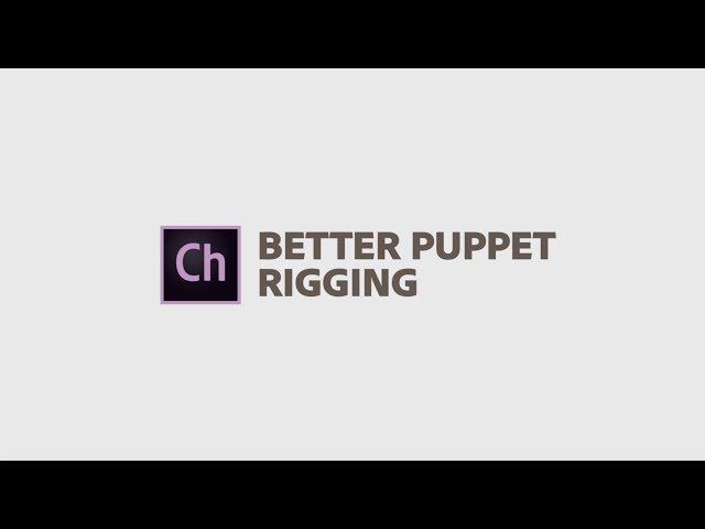 Better Puppet Rigging in Adobe Character Animator April 2019 | Adobe Creative Cloud