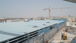 Erection of world's largest RAS in Abu Dhabi (Aquaculture & Caviar farm)