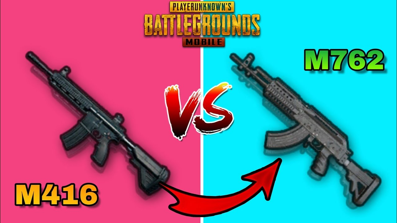 M416 vs M762 WHICH ONE IS THE BEST? Pubg Mobile Comparison (AR) Assult Rifle Tips And Tricks (Guide)