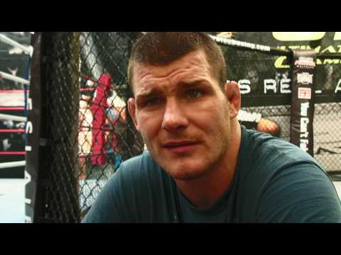 Exclusive Michael Bisping reaction to Henderson Knockout
