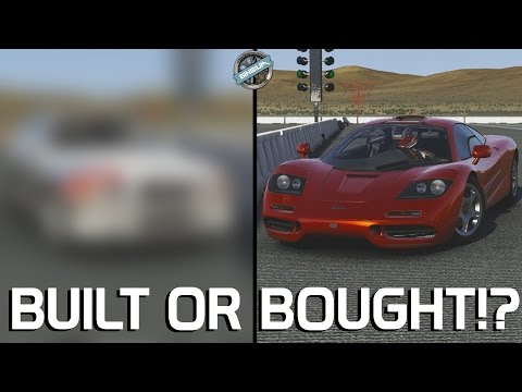 BUILT OR BOUGHT!? || 1993 McLaren F1 VS ??? || Forza 6