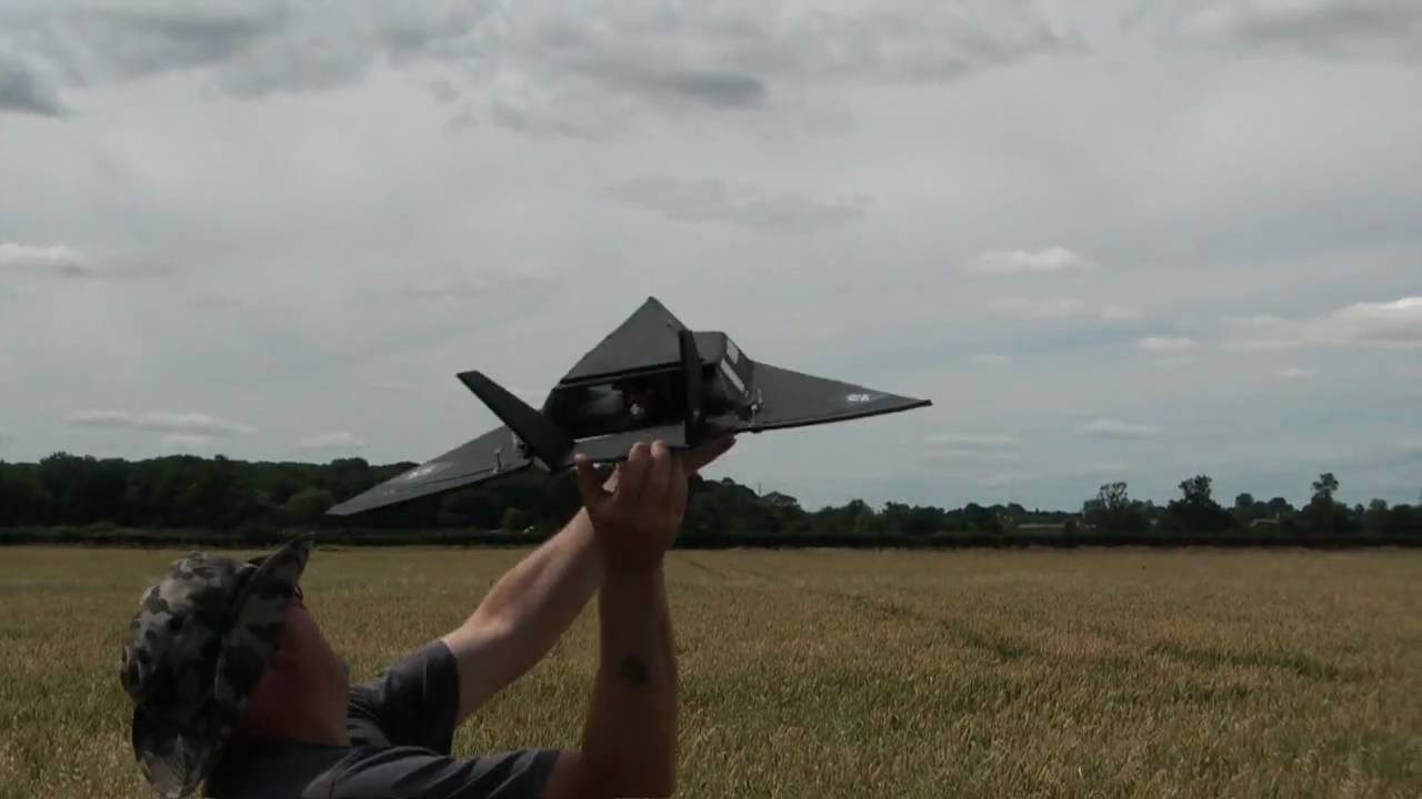 RC Foam Fighters F117 Stealth Fighter Nighthawk maiden ...