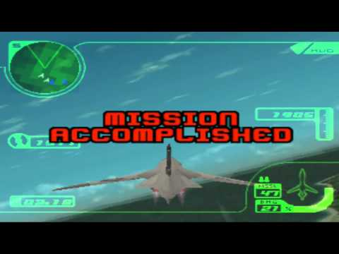 Ace Combat 3 JP (English Sub): Rena/Erich All Cutscenes Movie+Ending