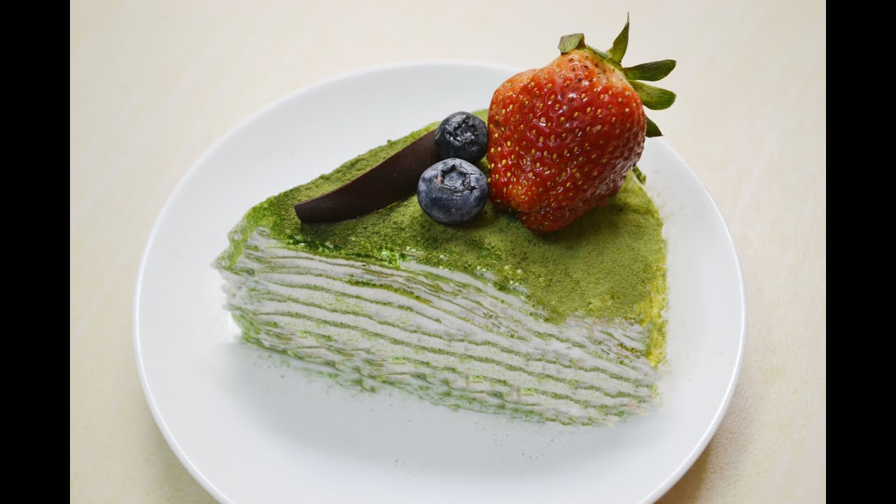 Green Tea Mille Crêpe Cake Matcha Crepes Recipe You