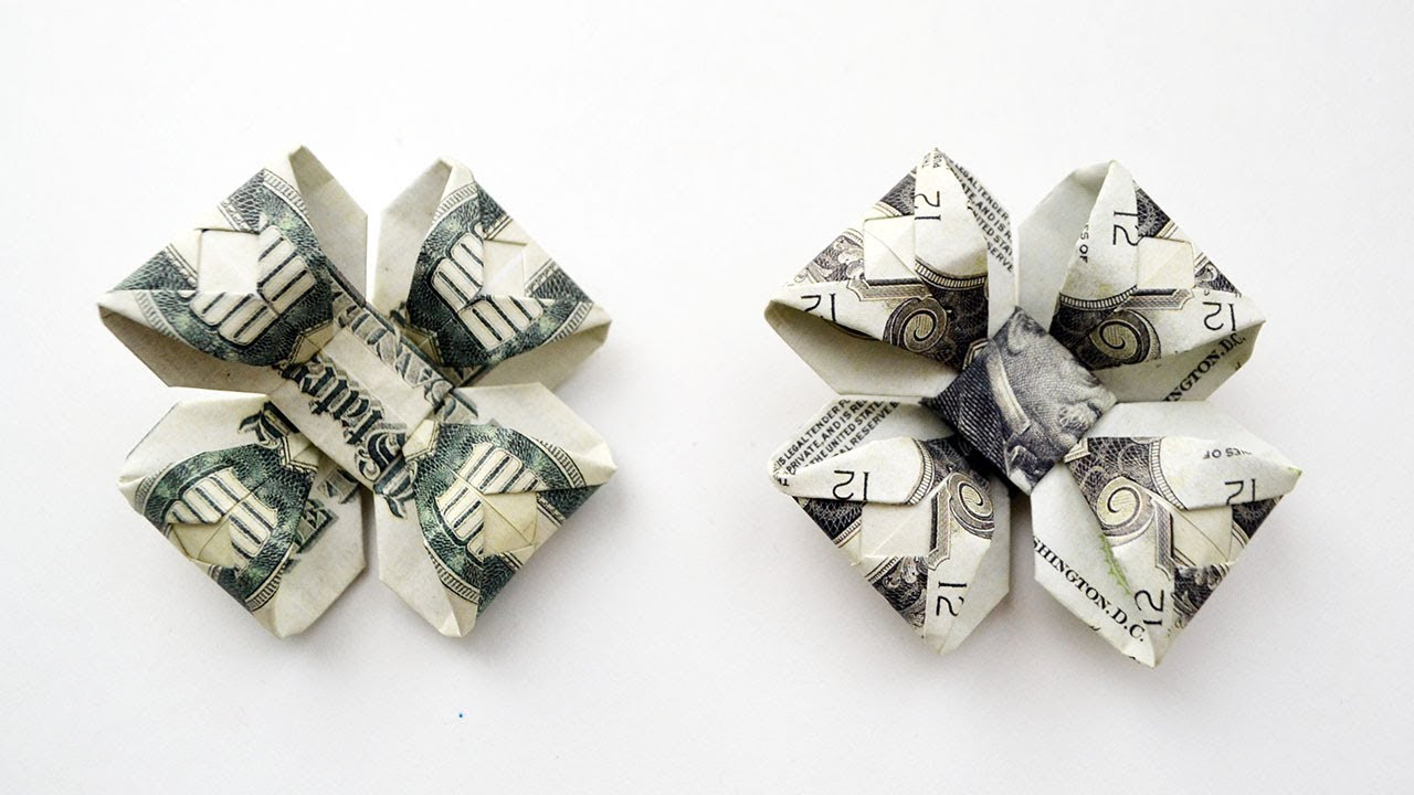 How to fold Money Origami, or Dollar-Bill Origami | Dollar bill ... | 720x1280